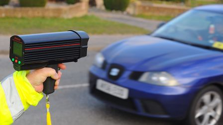 Lowestoft Police carried out speed checks in the town with 20 vehicles exceeding the 30mph limit. Ph