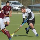 Simon Hipwell scored Harleston Magpies' opening goal at Chichester on Sunday Picture: PAT LEATE
