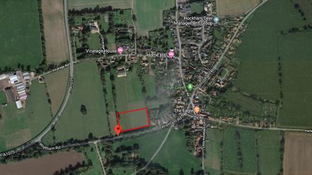 An application for 18 properties on land north of Wretham Road in Great Hockham, has prompted concer