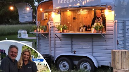 Bubble and Pips is for sale by owners Mike and Emma Jones. Pic: submitted/Archant