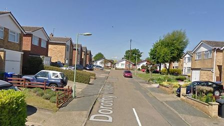 Dorothy Hodgkin Court, in Beccles. PHOTO: Google Maps