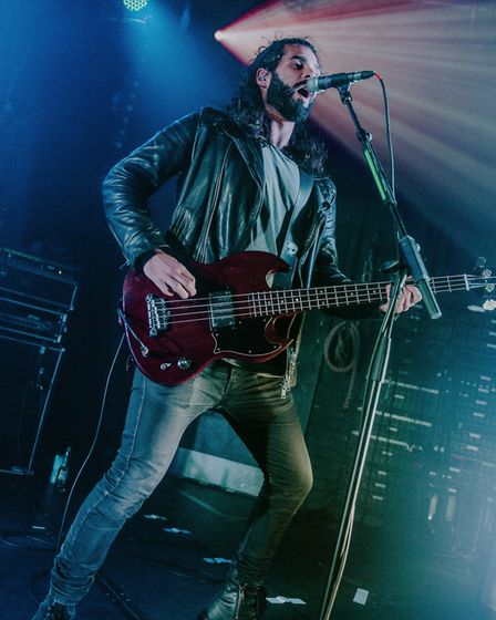 Barns Courtney headlining the Cambridge Junction. Picture: Danielle Booden Media