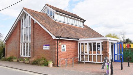Enjoy Beccles Photo Quiz. Bungay Library.Picture: Nick Butcher