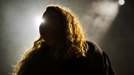 Kate Tempest at Norwich LCR. Photo: Patrick Widdess