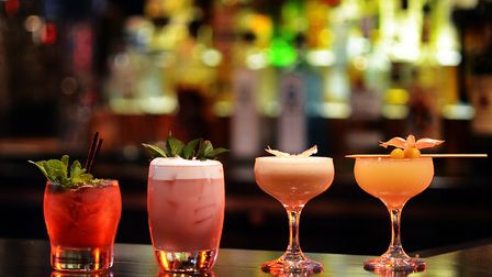 There will also be a range of cocktails including the Singapore Swing and Sex in the Bunker Picture: