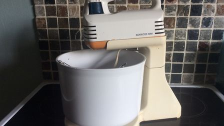 Julie Kemp still uses her trusty Kenwood mini chef mixer from 1980. Picture: JULIE KEMP