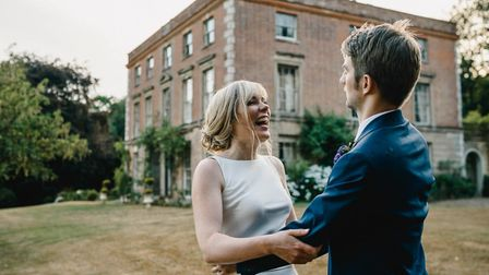 A wedding at Thurning Hall. Pic: Luis Holden