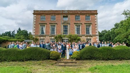 A wedding at Thurning Hall. Pic: Richard Jarmy Photography