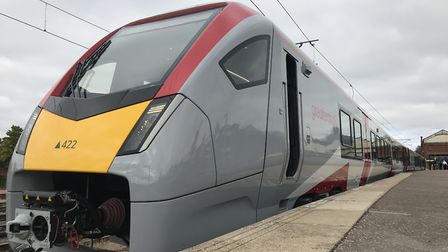 One of Greater Anglia's new trains. Picture: Neil Didsbury