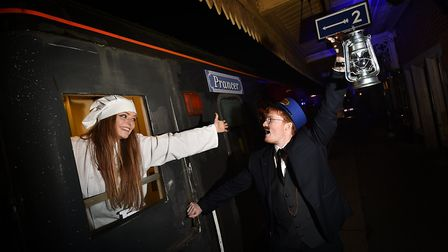 The Polar Express on the Mid-Norfolk Railway is one of the Christmas trains you can ride in Norfolk.