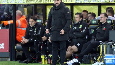 City head coach Daniel Farke needs to press the reset button on his side's campaign. Picture: Paul C