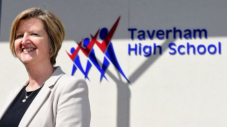 Taverham High School's latest Ofsted report has raised concerns that standards may be declining. Pic