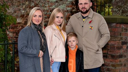 Gintaras Simanskis, from Lithuania, lives in King's Lynn with his family - wife Simona, daughter Eri