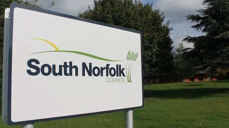 Lead was stolen from the roof of the South Norfolk Council headquarters in Long Stratton on October