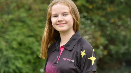 Mia Cuskeran has gained a place in the West End Kids performance troupe. Picture: Jamie Honeywood