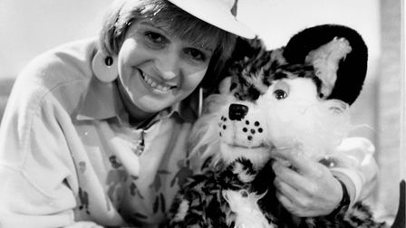 Helen McDermott and puppet BC from ITV Anglia's Birthday Club. Picture: Archant
