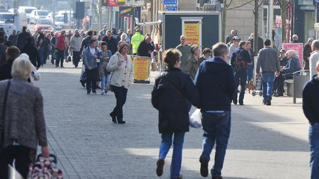 The purse thefts happened in Lowestoft town centre. Picture: Archant Library