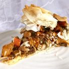 Kate Royall bakes with GBBO: Moroccan layered pie (C) Kate Royall
