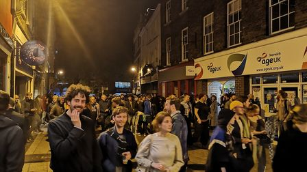 Gig goers were evacuated after one song during José González's set at Open in Norwich. Picture: Ruth