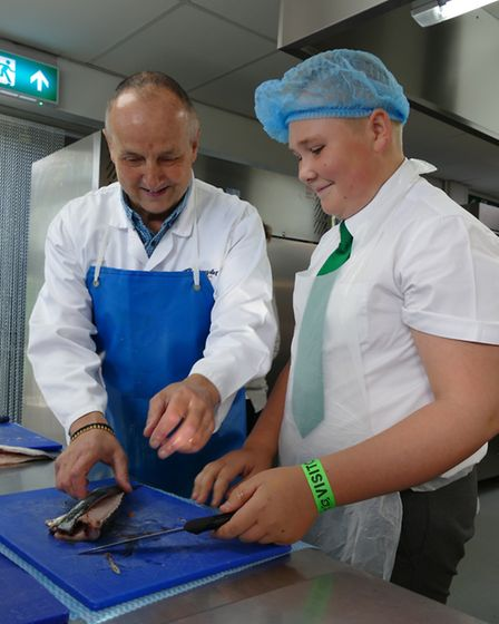 The event was organised by CWA in conjunction with the Seafood School at Billingsgate Fish Market to