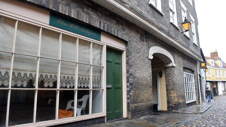 26 to 30 Elm Hill, Norwich. Picture: Jamie Honeywood
