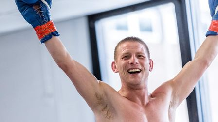 Boxer Michael Walsh is looking forward to returning to the ring Picture: Mark Hewlett