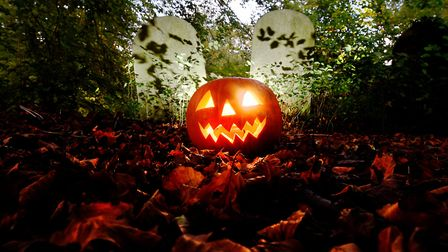 An evening of spooky tales. Picture: ANTONY KELLY