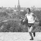 Duncan Forbes training on Mousehold Heath in July, 1976 Pictures: Archant Library