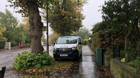 Emergency services were called to a house on Bracondale, Norwich, after a person suffered a cardiac