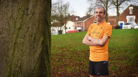 Andrew Lane is now an ambassador for parkrun in Norfolk. Picture: ANTONY KELLY