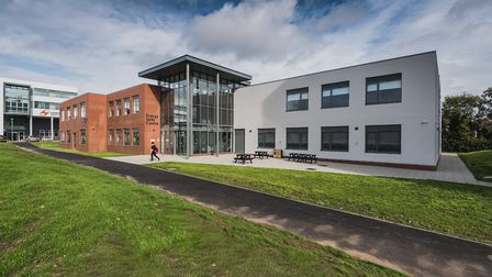 The new Energy Skills Centre at the Lowestoft campus of East Coast College. Picture: East Coast Coll