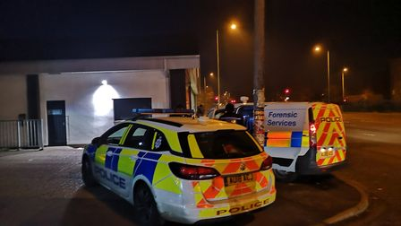 Police called to an incident on Dereham Road in Norwich. Photo: Ruth Lawes