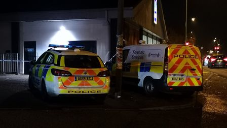 Police are investigating an attempted robbery near Dereham Road in Norwich during which a teenager w