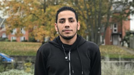 Emad Mohammad has sought asylum in the UK and lives in Norwich. Picture: Ella Wilkinson