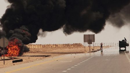 Emad Mohammad is from the city of Sirte, in Libya, which was heavily bombed during the Libyan Civil