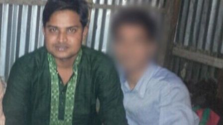 Soiful Alam, pictured here in Bangladesh in 2012, is claiming asylum in Norwich. Picture: Soiful Ala