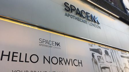 SpaceNK is opening in London Street, Norwich. Pic: Archant