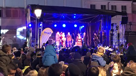 Great Yarmouth christmas lights switch on 2018