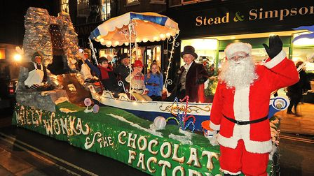 Plenty of fun at a previous Cromer Christmas lights switch on. PHOTO: ANTONY KELLY
