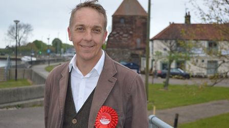 Mike Smith-Clare, Labour candidate for Great Yarmouth. Pic: Labour Party.