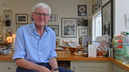 Norman Lamb pictured at his home in Norwich. Picture: Jamie Honeywood