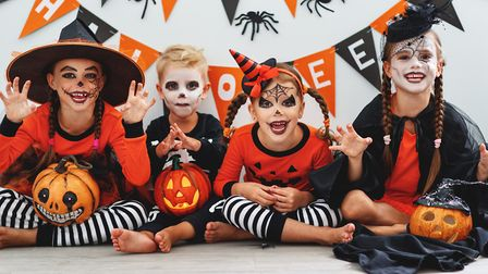 Children dressed up for Halloween. Picture: Getty Images/Evgeny Atamanenko
