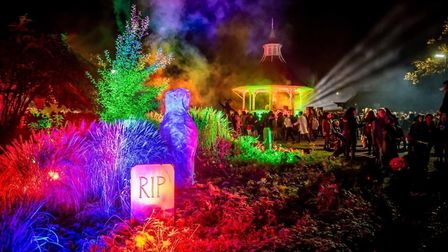 Spooky City returns to Chapelfield Gardens in Norwich this Halloween Credit: Norwich City Council