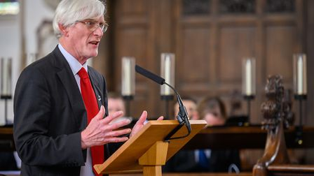 Norwich City Council leader Alan Waters. Picture: Bill Smith