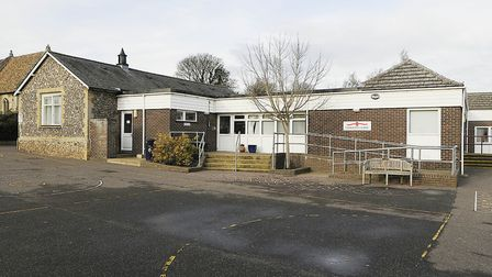 Gooderstone Primary School has previously been used as a polling station. Picture: Archant