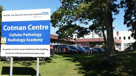 The Cotman Centre at the Norwich Research Park, where cervical smear samples are tested. Picture: DE