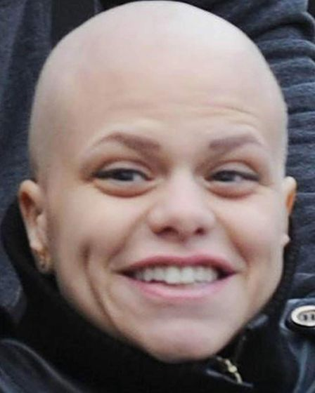 Jade Goody, who died from cervical cancer. Picture: Stefan Rousseau/PA Wire