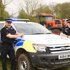 Operation Randall was set up by Police, to crack down on rural and countryside criminals. Pictured a