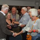 60th anniversary reunion of previous Anglia employees, presenters etc at the Holiday Inn Norwich Air