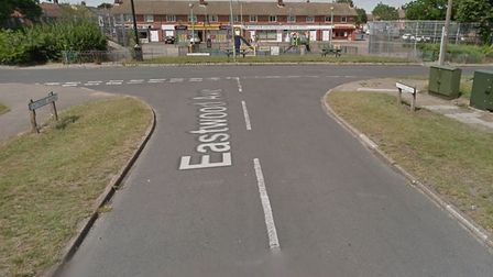 The man was assaulted in Eastwood Avenue, close to Whitton Green, on Thursday, October 31. Picture: